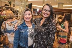 Liliane Gomes e Cássia Amorim
