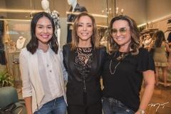 Lygia Duarte, Ana Paula Daud e Socorro Medeiros