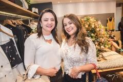 Patrícia Ferreira e Kelly Hudson