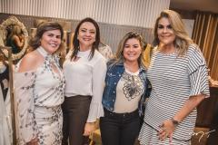 Sandra Brayner, Patrícia Ferreira, Liliane Gomes e Érica Gurgel