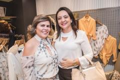 Sandra Brayner e Patrícia Ferreira