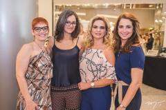 Fernanda Santos, Fernanda Kuetez, Germana Cavalcante e Márcia Andréa