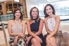 Juliana Melo, Fátima Santana e Sarah Nunes