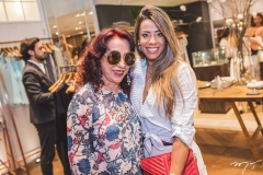 Liege e Germana Rabelo
