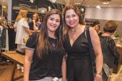 Luciana Padilha e Ingrid Feitosa