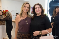 Ana Paula Daud e Auxiliadora Mourão