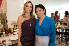 Ana Paula Daud e Nilzete Zeidan