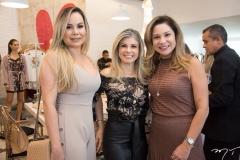 Cleia Lopes, Nelir Cunha e Ingrid Feitosa