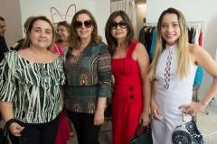 Danielle Dumaresq, Carla Miamoto, Doris Azevedo e Carla Maia