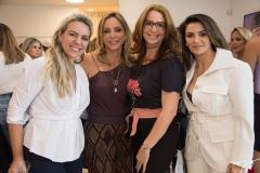 Erika Queiroz, Ana Paula Daud, Márcia Andrea e Monaliza Cavalcante