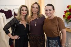 Germana Cavalcante, Ana Paula Daud e Socorro Medeiros
