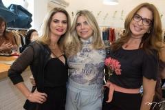 Germana Cavalcante, Samantha Isa e Márcia Andrea