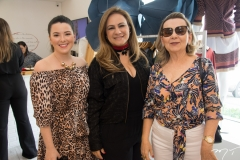 Larissa Gomes, Regina Abreu e Maria de Jesus