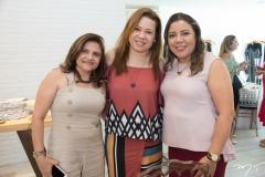 Meyra Galdino, Fernanda Moreno e Cleide Santos