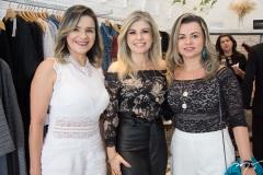 Roberta Azevedo, Nelir Cunha e Flávia Costa