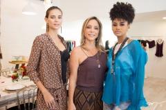 Vanessa Santiago, Ana Paula Daud e Angela Alves