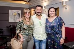 Liduína Melo, Pedro Franco e Patrícia Bessa