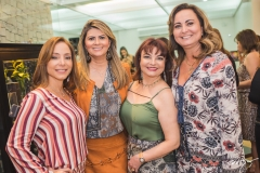 Ana Paula Daud, Michelinne Pinheiro, Christiane Leite e Fátima Santana