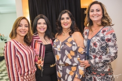 Ana Paula Daud, Sellene Câmara, Izabeli Leitão e Fátima Santana