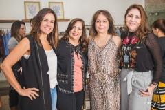 Ana Virgínia Martins, Martinha Assunção, Cláudia Gradvohl e Cristiane Faria