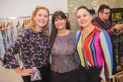 Andréa Delfino, Denise Pinheiro e Denise Cavalcante