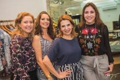 Andréa Delfino, Márcia Andréa, Carol Melo e Cristiane Faria