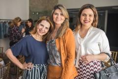 Carla Melo, Michelinne Pinheiro e Priscila Amaral