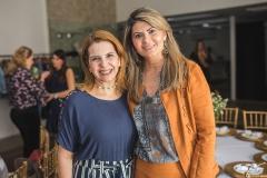 Carla Melo e Michelinne Pinheiro