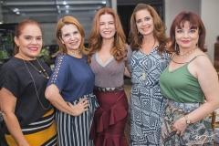 Cláudia Alexandre, Amazônia Albuquerque, Claudia Quental, Márcia Andréa e Christiane Leite