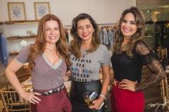 Cláudia Quental, Márcia Travessoni e Eveline Fujita