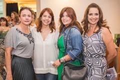 Cristiane Araújo, Giovanna Adjafre, Nana Lima e Márcia Andréa
