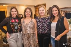 Cristiane Faria, Cláudia Gradvohl, Andréa Delfino e Ana Virgínia Martins
