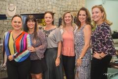 Denise Cavalcante, Denise Pinheiro, Cristiane Araújo, Aline Feitosa, Márcia Andréa e Andréa Delfino