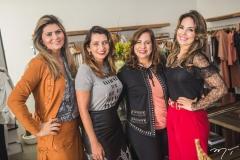 Michelinne Pinheiro, Márcia Travessoni, Martinha Assunção e Eveline Fujita