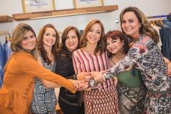 Michelinne Pinheiro, Márcia Andréa, Martinha Assunção, Ana Paula Daud, Christiane Leite e Fátima Santana