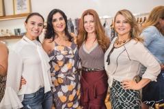 Neuza Rocha, Izabeli Leitão, Cláudia Quental e Silvana Guimarães