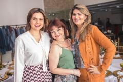Priscila Amaral, Christiane Leite e Michelinne Pinheiro