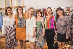 Priscila Amaral, Michelinne Pinheiro, Marjorie Marshall, Christiane Leite, Denise Cavalcante e Denise Pinheiro