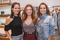 Romina Frota, Cláudia Quental e Márcia Andréa