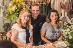 Sandra Fujita, Ivan Melo e Márcia Travessoni