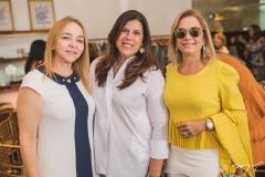 Sandra Fujita, Nara Amaral e Sarah Philomeno