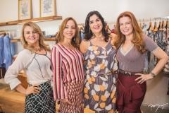 Silvana Guimarães, Ana Paula Daud, Izabeli Leitão e Cláudia Quental
