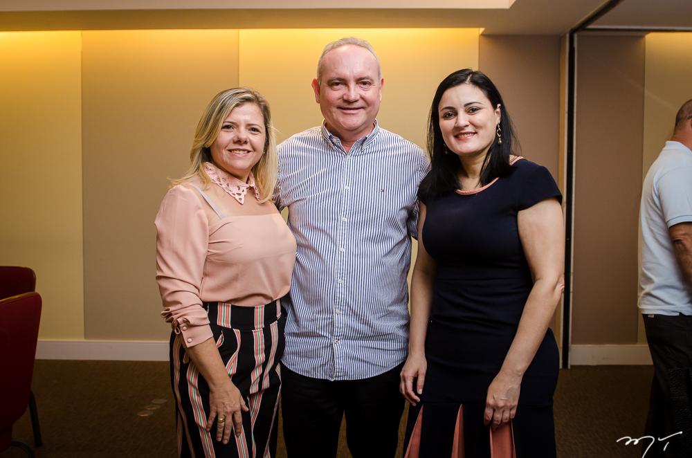 Claudia Brilhante, Sávio Carvalho e Simone Guimarães