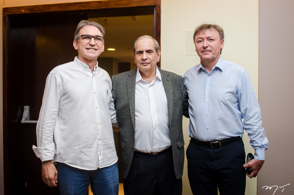 Marcelo Fernando de Queiroz, José Tadros e Maurício Filizola