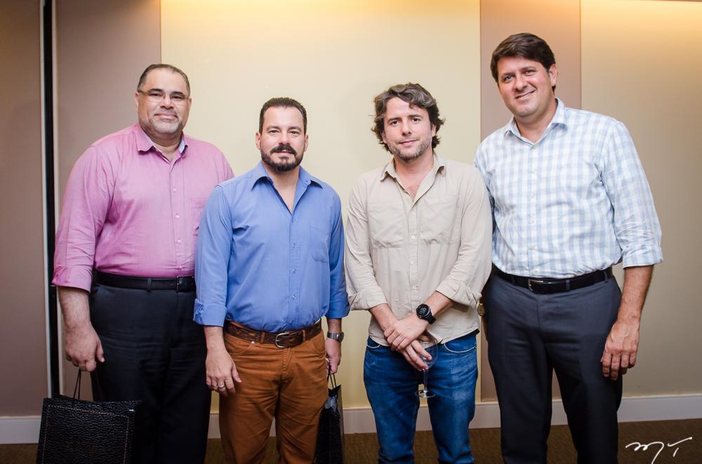 Marcos Gomide, Miguel Dias Filho, Ciro Tomaz e Rafael Rodrigues
