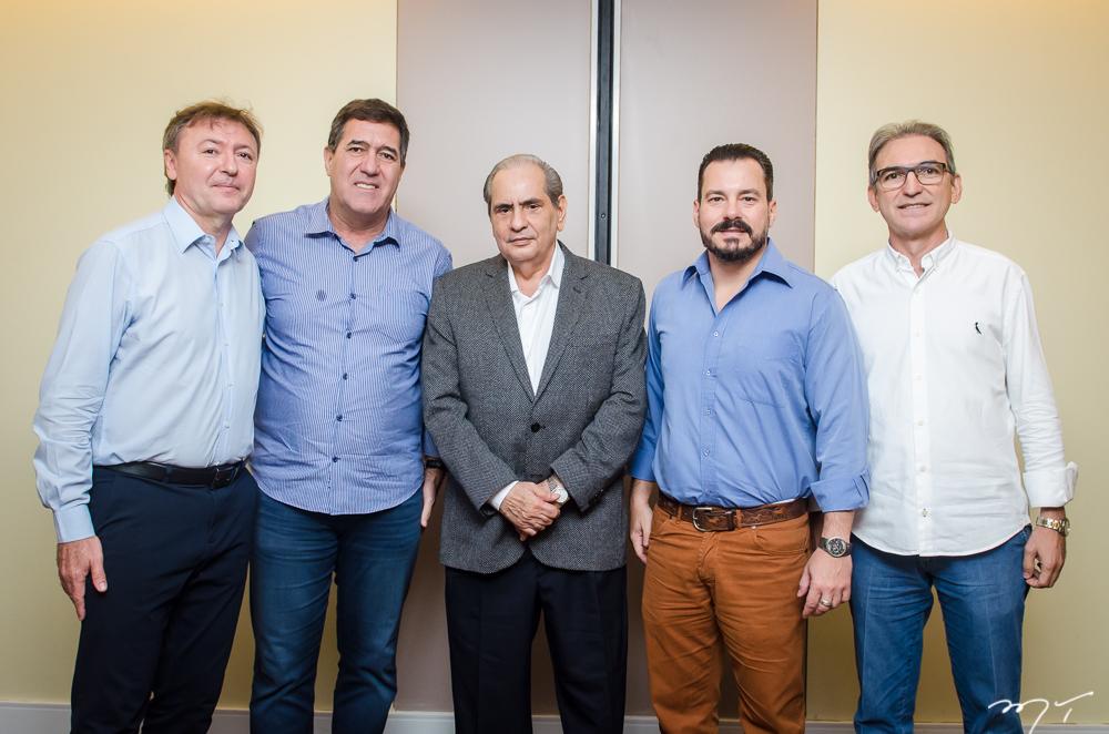 Maurício Filizola, Luiz Gastão, José Tadros, Miguel Dias Filho e Marcelo Fernando de Queiroz