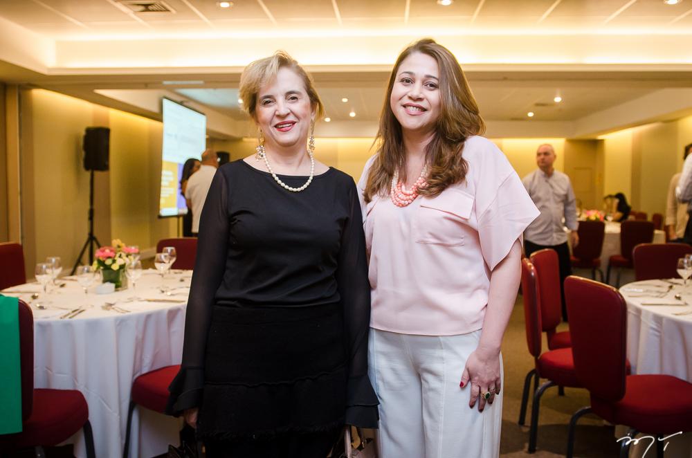 Solange Palhano e Raquel Barros