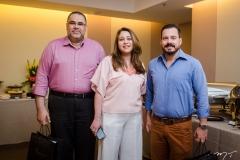 Edson Ferreira, Raquel Barros e Miguel Dias Filho