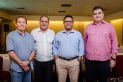 Idelfonso Rodrigues, Roberto Moreira, Arlen Medina Nery e Marcos Gomide