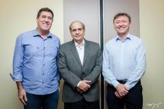 Luiz Gastão, José Tadros e Maurício Filizola